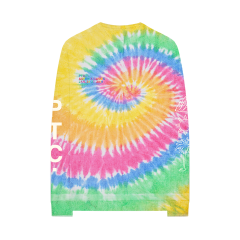 PTC ASPEN TIE DYE LONG SLEEVE T-SHIRT