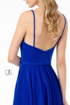 Sweetheart Neckline A-Line Short Dress w/ Pocket