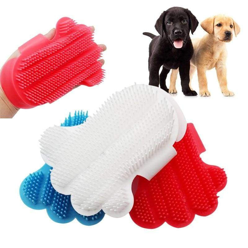Comfortable Pet Touch Bath Massage Brush Glove For Dogs Cat - uspetsuperstore