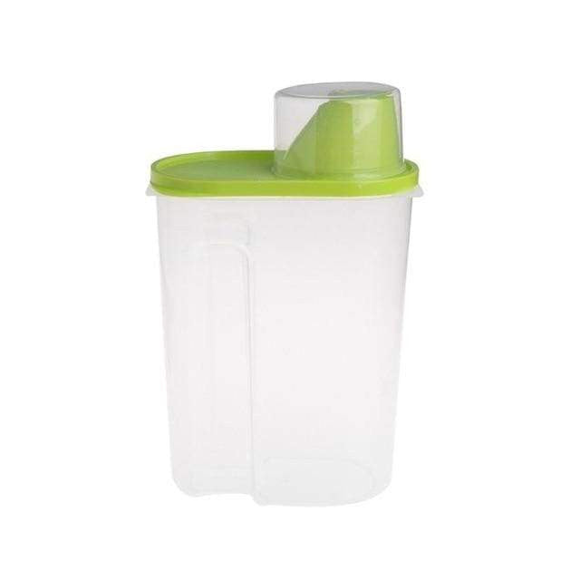 Food Useful Storage Container For Pets Dog Cat - IY0152G / L / United States - uspetsuperstore