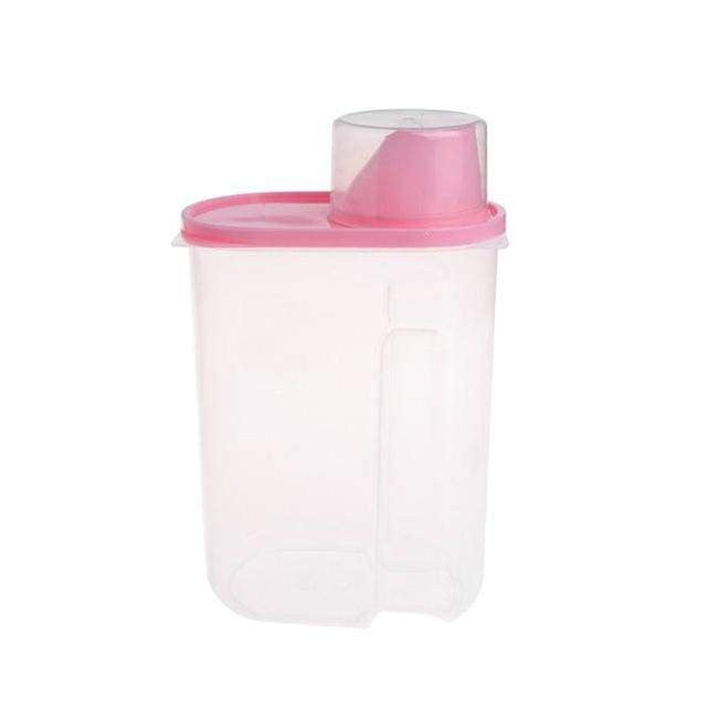 Food Useful Storage Container For Pets Dog Cat - IY0152R / L / China - uspetsuperstore