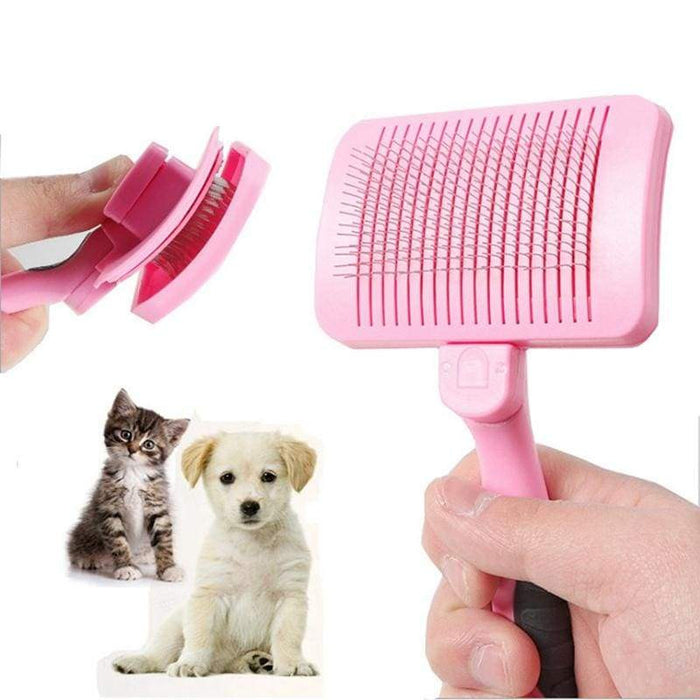 Grooming Steel Wire Comb for Pet Removing Loose Hair - uspetsuperstore