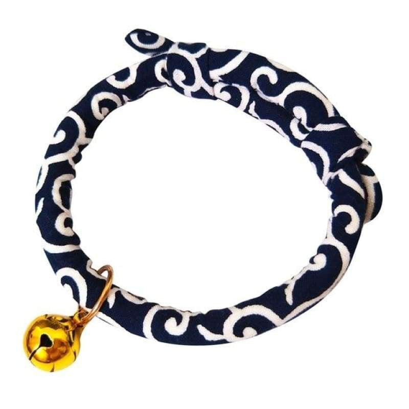 Japanese Style Adjustable Cat Dog Collar | Uspetsuper store
