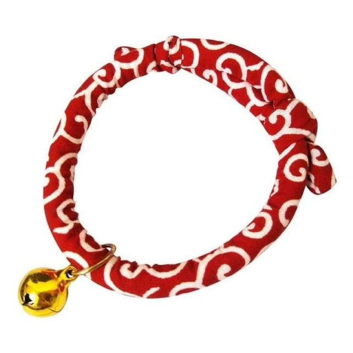 Japanese Style Adjustable Collar Pet Cats - R / United States - Geloft Store