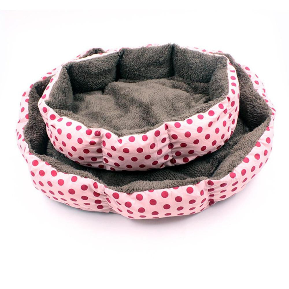 New Kennel Super Soft Cotton Velvet Winter Warm Dog Cat Bed