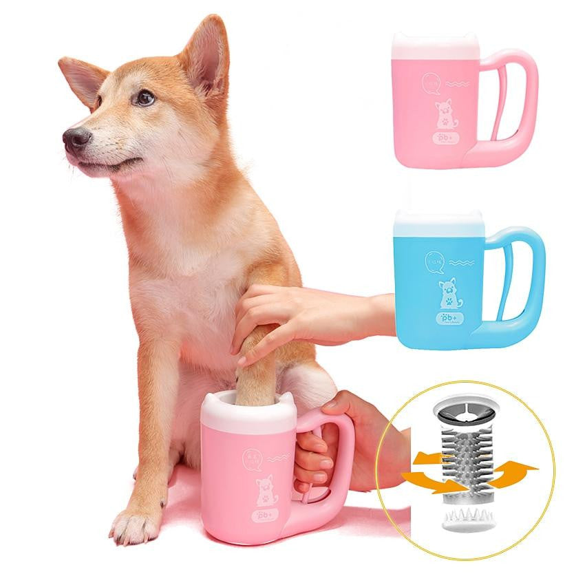 Portable Paw Clean Washer For Pet Dog Cat