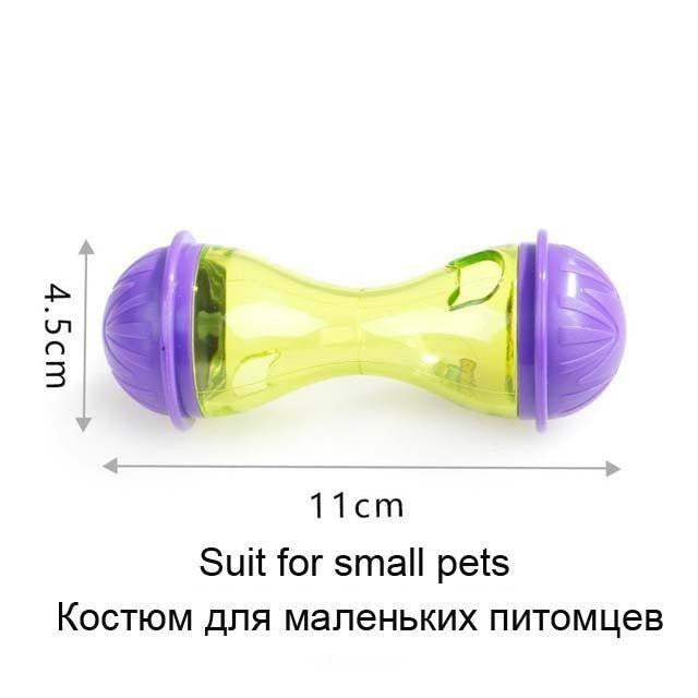 Interactive Dog Cat Food Treat Ball Bowl Toy | Uspetsuper store