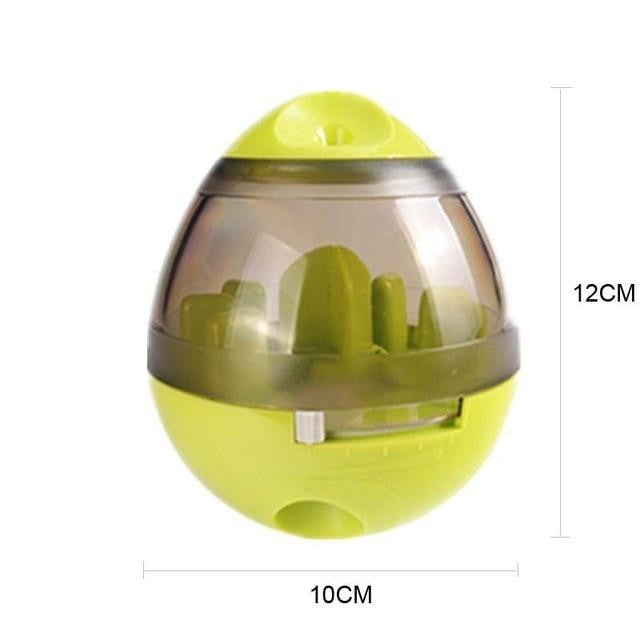 Interactive Dog Cat Food Treat Ball Bowl Toy