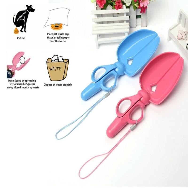 Portable Scissor Pet Pooper Scooper