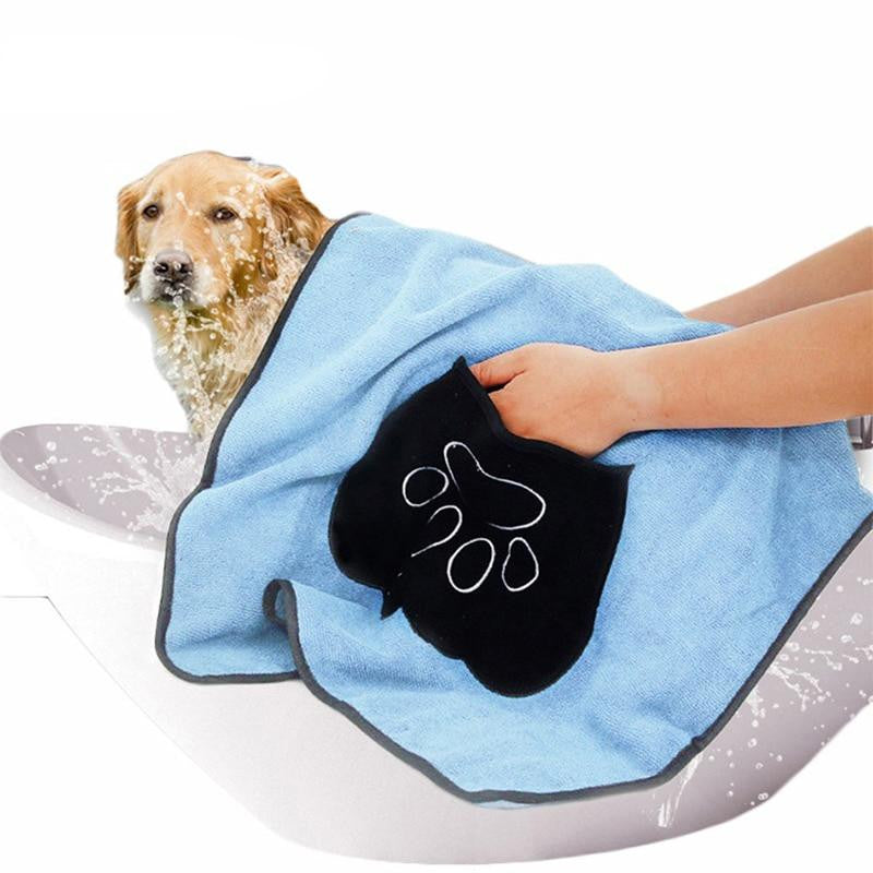 Pet Dog Drying Towel Ultra-absorbent Dog Towel | Uspetsuper store
