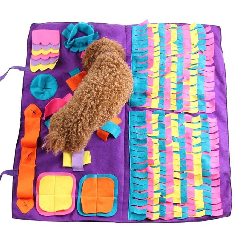 Pet Dog Sniffing Mat Find Food Training Blanket Play Toys For Dog
