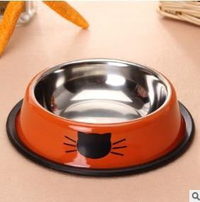 Cat Bowl Stainless Steel Pet Food Bowl
