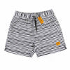 Bronte - Men's Black & White Boardshorts