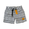 Bronte - Boys Black & White Boardshorts