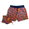 Bronte - Father/Daughter Wild Cat Swim Shorts Combo