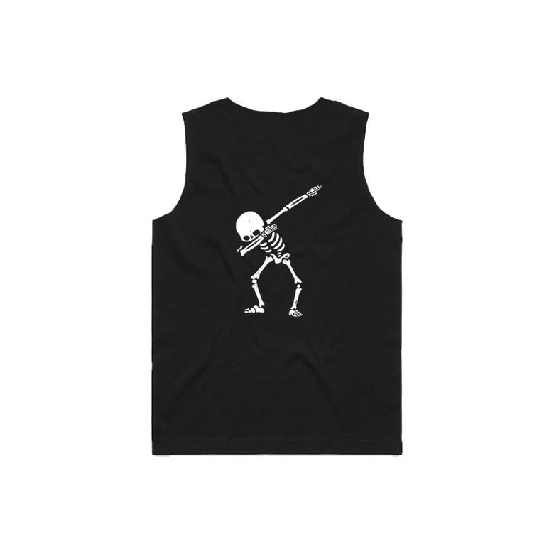 Bronte - Kids Skeleton Dab Tank Top