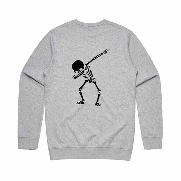 Bronte - Mens Skeleton Dab Crew Neck