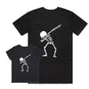 Bronte - Father/Son Skeleton Dab T-Shirt Combo