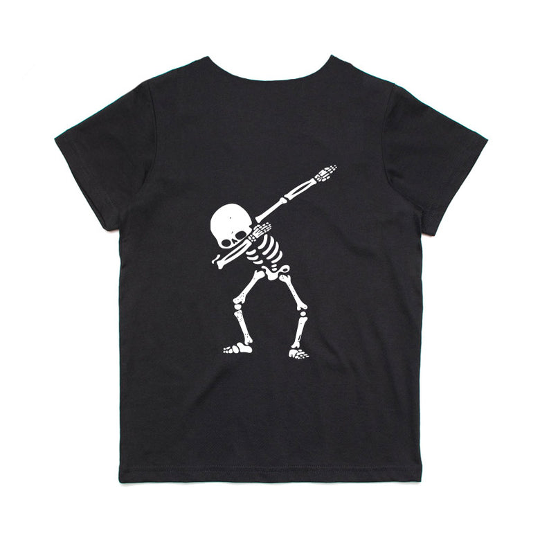 Bronte - Kids Skeleton Dab T-Shirt