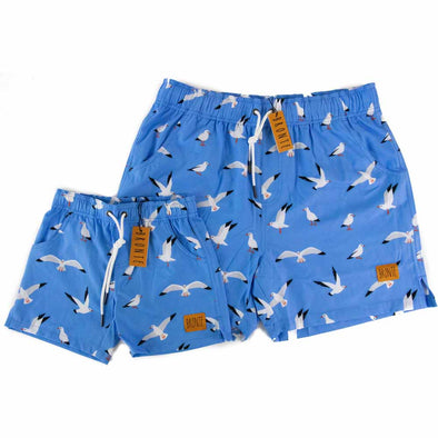 Bronte - Father/Son Hungry Seagull Board Shorts Combo