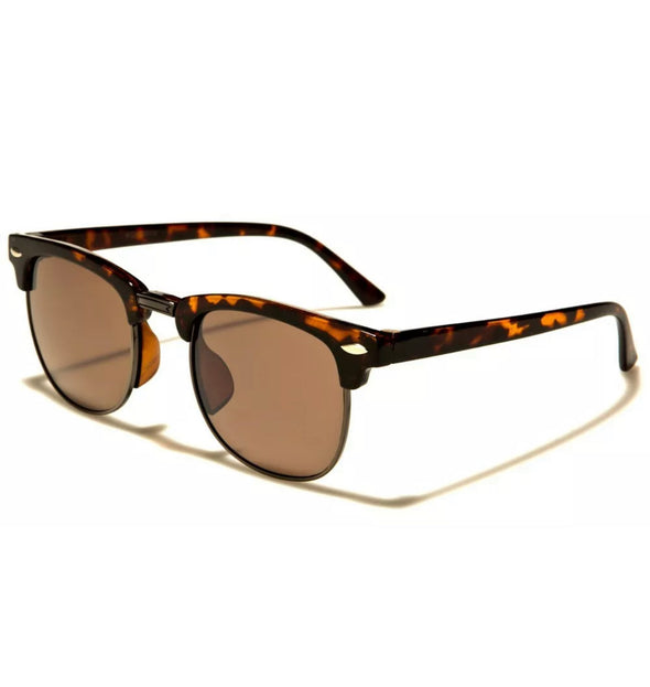 Kids Retro Sunglasses - Tortoiseshell