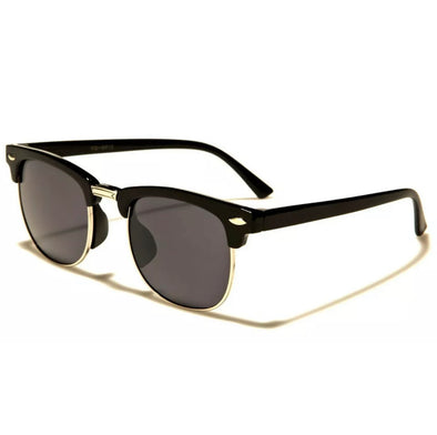 Kids Retro Sunglasses - Black