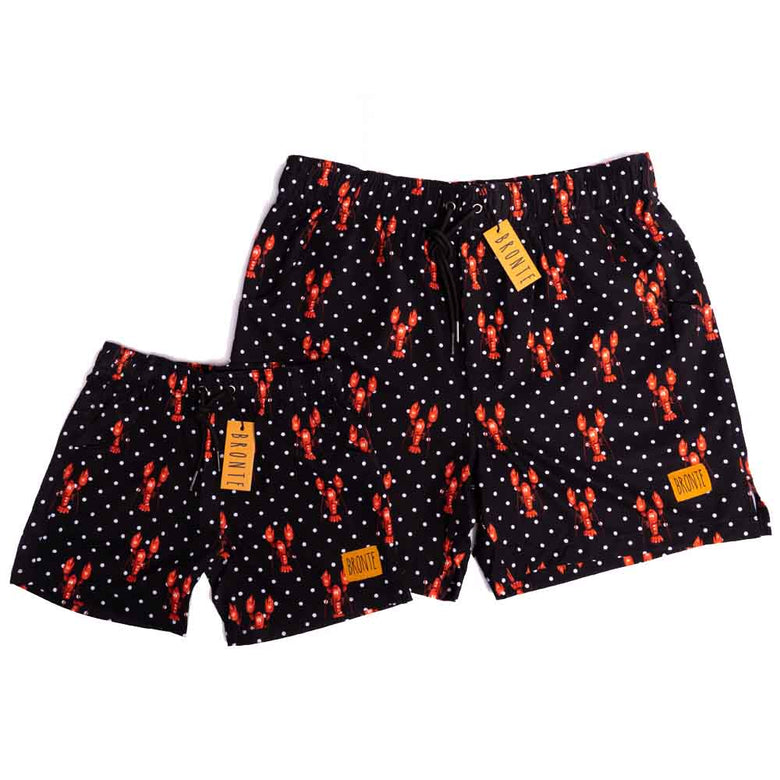 Bronte - Father/Son Rock Lobster Board Shorts Combo