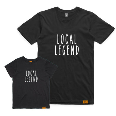 Bronte - Father/Son Local Legend T-Shirt Combo