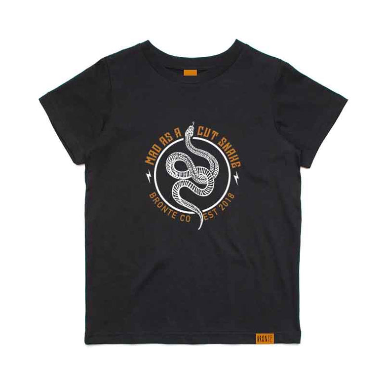 Bronte - Kids Mad As a Cut Snake T-Shirt
