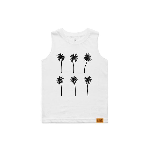 Bronte - Kids Palms Tank Top
