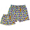 Bronte - Father/Son Retro Board Shorts Combo