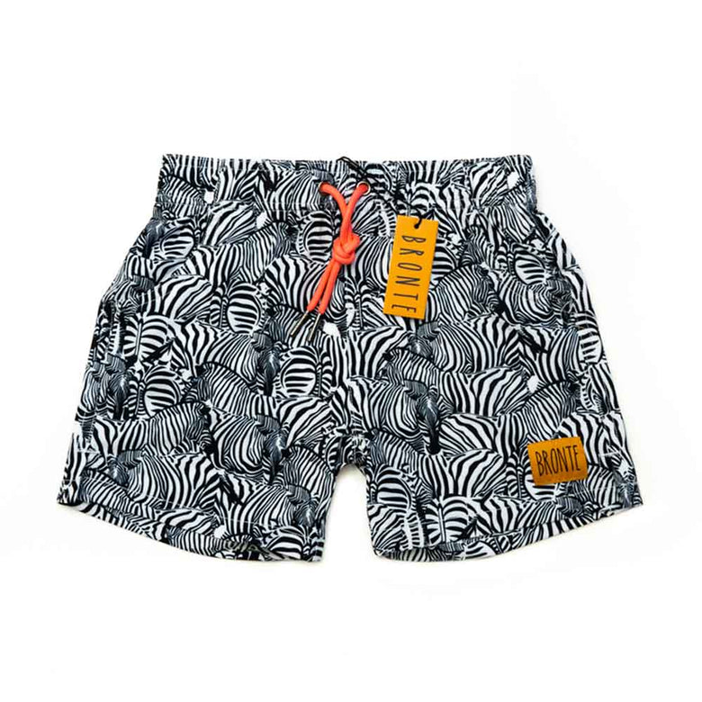 Bronte - Boys Zebra Zags Board Shorts