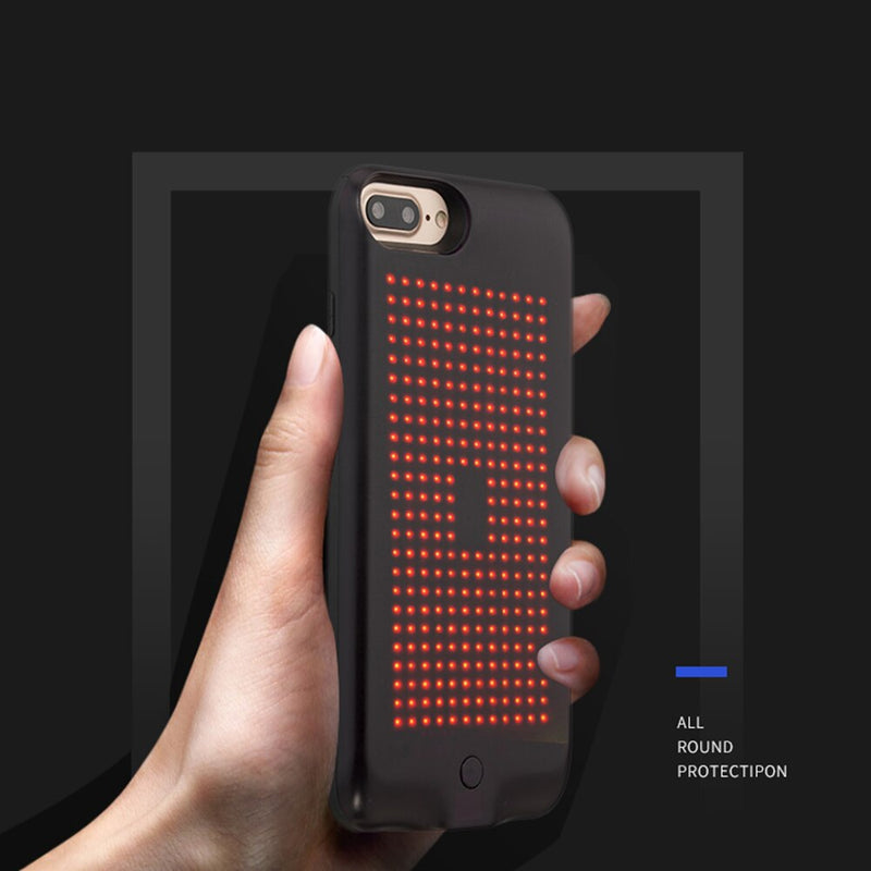 Customize-able LED Glowing iPhone Case