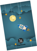 Space Adventure Invitations & Thank You Cards