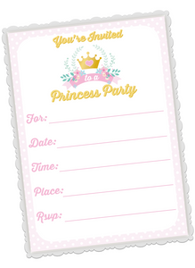 Fairytale Birthday Invitations