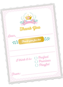 Fairytale Thank You Cards