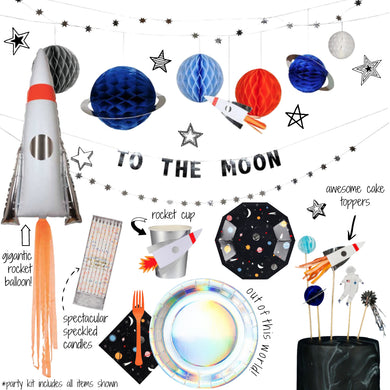 Space Adventure Party Kit