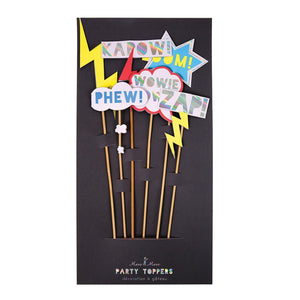 Zap! Cake Toppers (Set of 6)