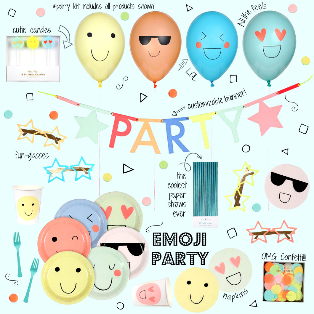 Emoji Party Kit