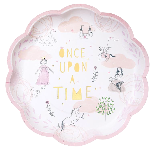 Fairytale Plates (Set of 12)