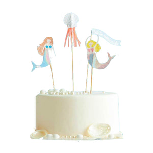 Mermaid Cake Toppers