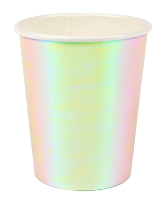 Iridescent Cups (Set of 8)