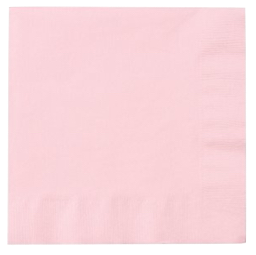 Pink Napkins (Set of 16)