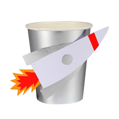 Pop-up Rocket Cups (Set of 8)