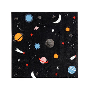 Planet Napkins (Set of 16)