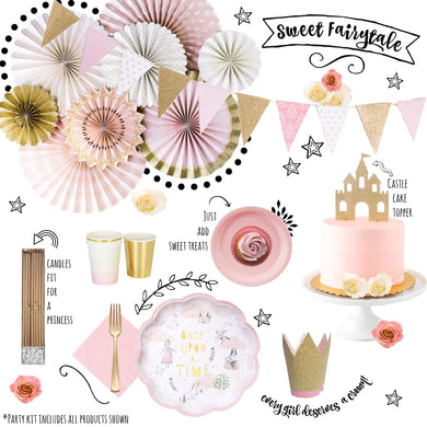 Fairytale Princess Party Kit