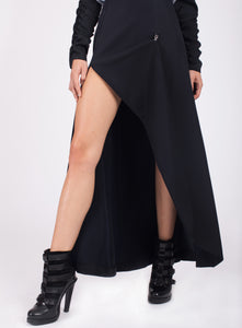 FLOOR LENGTH SLIT SKIRT