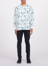 Load image into Gallery viewer, UNISEX LONG SLEEVE PIXEL TEE SHIRT