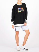 Load image into Gallery viewer, UNISEX SMPTE PATCH CREW NECK SWEATSHIRT