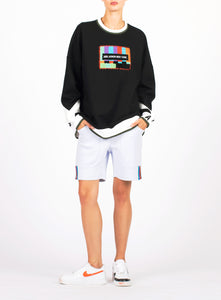 UNISEX SMPTE PATCH CREW NECK SWEATSHIRT